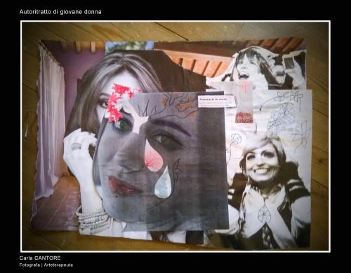 Il collage: specchio emotivo.