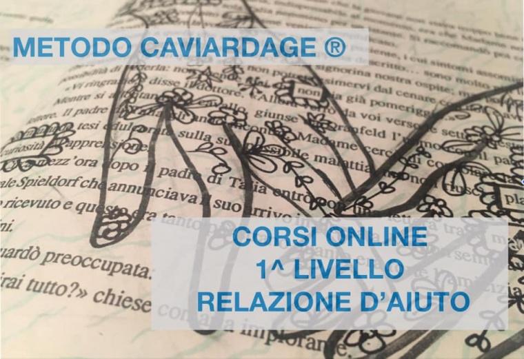 Corso di I° Livello Online di Metodo Caviardage® nella Relazione di aiuto