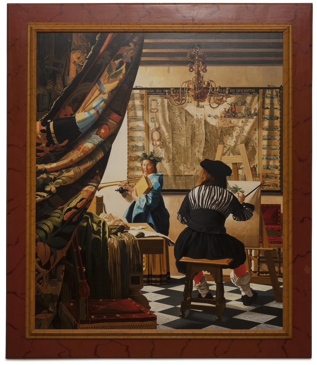 The art of painting - Allegoria della pittura - cm 125x105